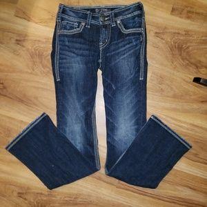 Silver Suki Surplus Jeans size 25x32